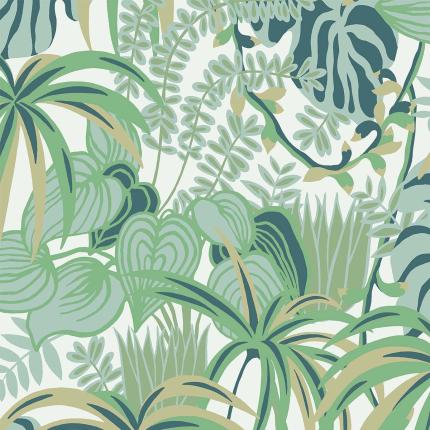 Papier peint Greenery Hookedonwalls Vert 36511 Hookedonwalls