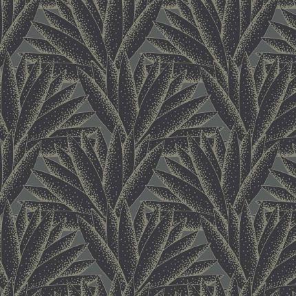 Papier peint Majestic Hookedonwalls Noir/Gris 36520 Hookedonwalls