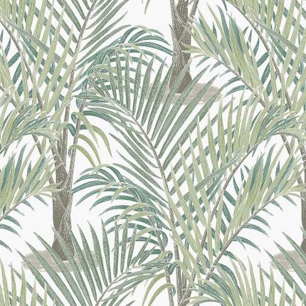 Papier peint Palma Hookedonwalls Vert 36531 Hookedonwalls