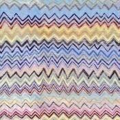 Papier peint Zig Zag Blue/Yellow/Pink Mindthegap