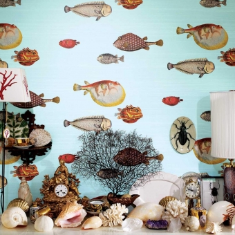 Acquario Wallpaper Saphire Cole and Son