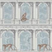 Papier peint Procuratie con vista Bleu/Gris Cole and Son