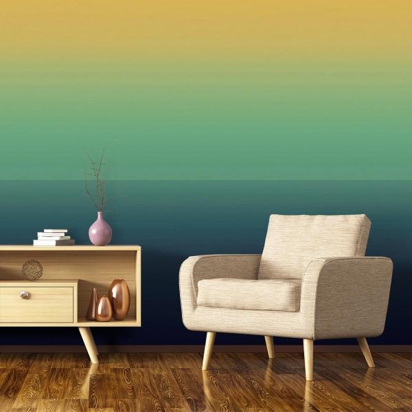 papier peint l 39 au del nobilis. Black Bedroom Furniture Sets. Home Design Ideas