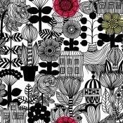 Papier peint Lintukoto Brume Marimekko