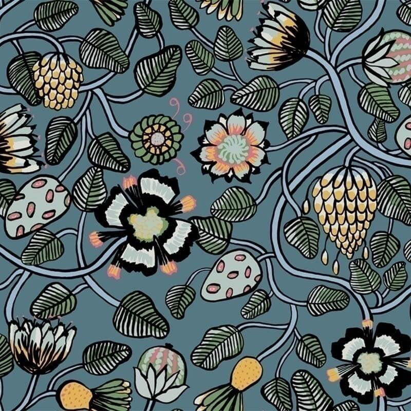 Pieni Tiara Wallpaper Marimekko