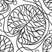 Papier peint Bottna Noir et Blanc Marimekko