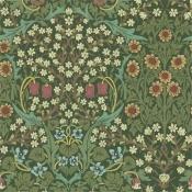 Papier peint Blackthorn Green Morris and Co