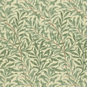 Papier peint Willow Boughs Green Morris and Co