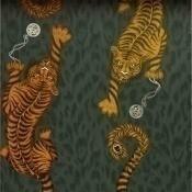 Papier peint Tigris Flame Clarke and Clarke