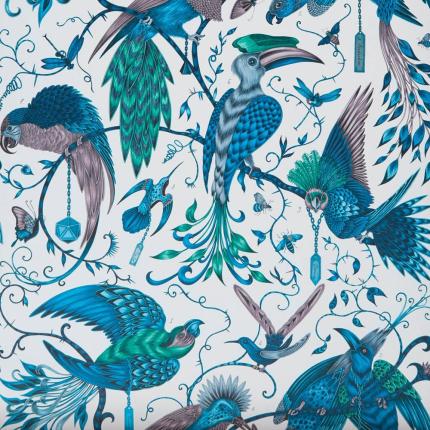 Papier peint Audubon Clarke and Clarke Jungle W0099/03 Clarke and Clarke