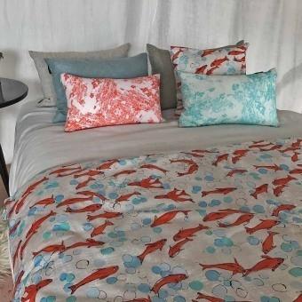 Dans le Bocal Fabric Rouge Lalie Design