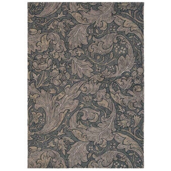 Tapis Bachelors Button Charcoal 140x200 cm Morris and Co