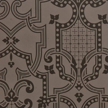 Papier peint Théodore Isidore Leroy Rabbit/Noir 6240101 Isidore Leroy