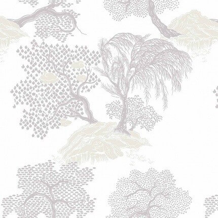 Papier peint Jardin d'Asie Isidore Leroy Falaise 6240501 Isidore Leroy