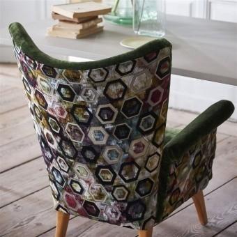 Sukhna Velvet Cobalt Designers Guild