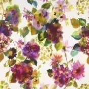 Tissu Palace Flower Grande  Saffron Designers Guild