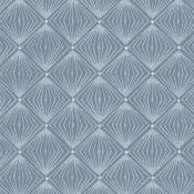 Papier peint Diamant Bleu Isidore Leroy