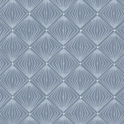 Papier peint Diamant Isidore Leroy Bleu 6241101 Isidore Leroy