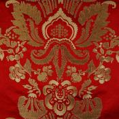 Tissu brodé Versailles Blanc Nobilis