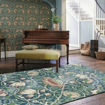 Lodden Rug 140x200 cm Morris and Co
