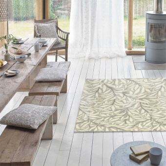 Willow Bough Ivory Rug 140x200 cm Morris and Co
