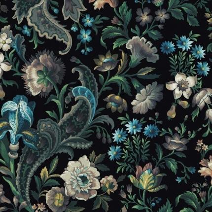 Papier peint Florika House of Hackney Onyx 1-WA-FLO-DI-ONX-XXX-004 House of Hackney