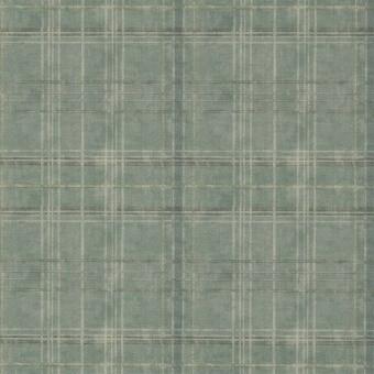 Papier peint Shetland Plaid Lovat Mulberry