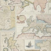 Papier peint Bohemian Travels Indigo Mulberry