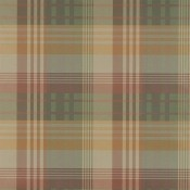 Papier peint Mulberry Ancient Tartan Ivory/Dove Mulberry