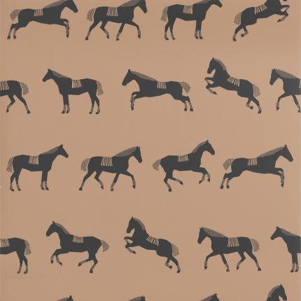 Papier peint Horse Ferm Living Brown 193 Ferm Living