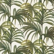 Tissu Palmeral White/Green House of Hackney
