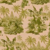 Papier peint Sumatra Blush/Pear Green House of Hackney