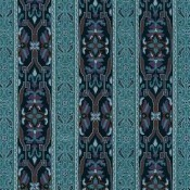 Tissu Mamounia Midnight Midnight/Azurite House of Hackney