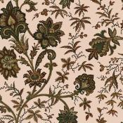 Papier peint Indienne Amaranth/Juniper House of Hackney