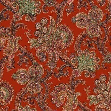 Papier peint Palme Cashmir House of Hackney  Henna 1-WA-PAC-DI-HEN-XXX-XXX House of Hackney