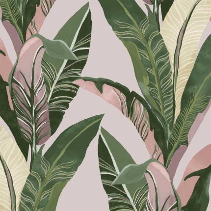 Papier peint Palm Eijffinger Pink 384501 Eijffinger