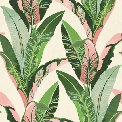 Panneau Jungle Eijffinger Pink 384601 Eijffinger