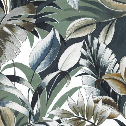 Tissu Dypsis Casamance Vert olive 41060351 Casamance