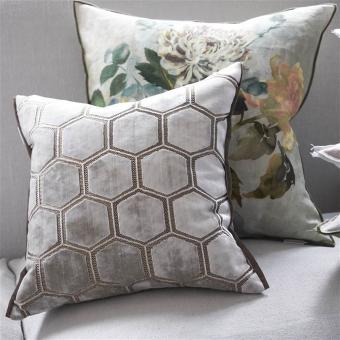 Manipur Cushion Amethyst Designers Guild