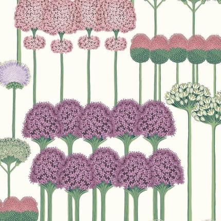 Papier peint Allium Cole and Son Violet/Rose 115/12034 Cole and Son