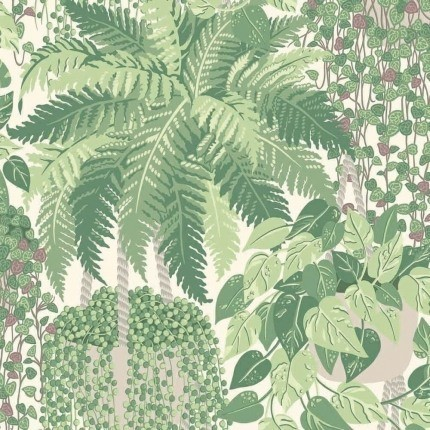 Papier peint Fern Cole and Son Vert 115/7021 Cole and Son