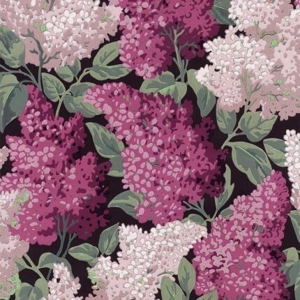 Panneau Lilac Grandiflora Cole and Son Rose/Magenta 115/15045 pack 2 rouleaux Cole and Son