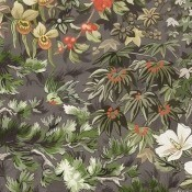 Papier peint Woodland Corail/Olive Cole and Son