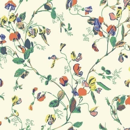 Papier peint Sweet Pea Cole and Son Autumn 115/11032 Cole and Son