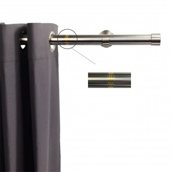 Linea Rod Stainless Steel Bright Brass 102 cm Getynd