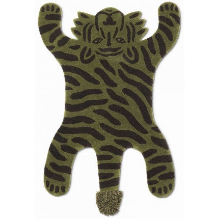 Tapis Safari Tufted Tiger Ferm Living  Forest 9071 Ferm Living