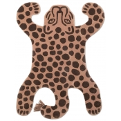 Tapis Safari Tufted Leopard Brick Ferm Living