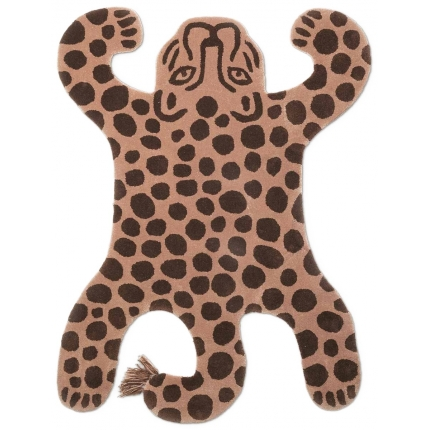 Tapis Safari Tufted Leopard Ferm Living Brick 9073 Ferm Living