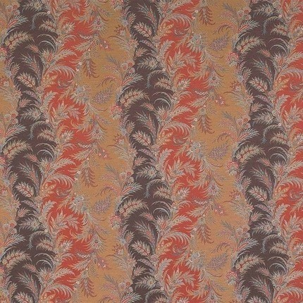 Tissu Acanthus Etro Naranja 6537-1-1 Etro