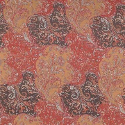Tissu Achimenes Etro Naranja 6538-1-1 Etro